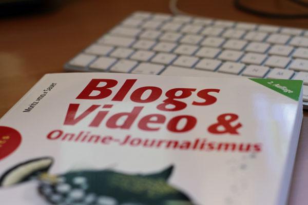 Buchcover Blogs Video und Online-Journalismus