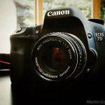 Meine ersten Versuche mit dem alten Pentax-Objektiv an der Canon EOS 7D