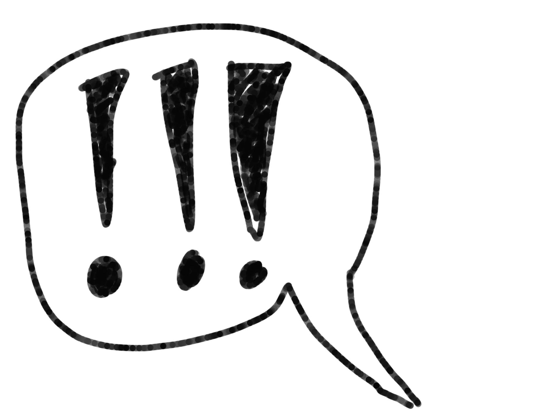 Appelle auf Facebook: Nicht unter drei Ausrufezeichen