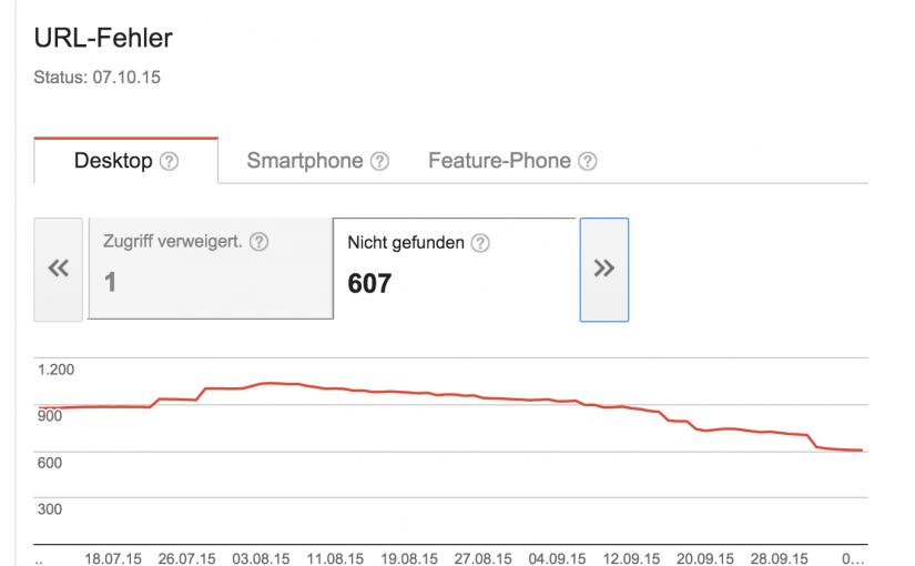 404-Fehler sind erstmal Mist – bis man sie behebt und davon profitiert