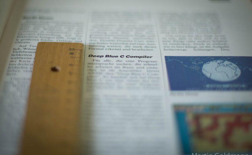 Der Reiz der Begrenzung in Print